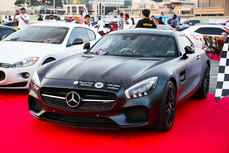 奔驰车AMG GT 免版税库存图片