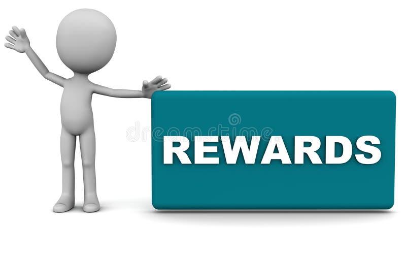 奖励 向量例证