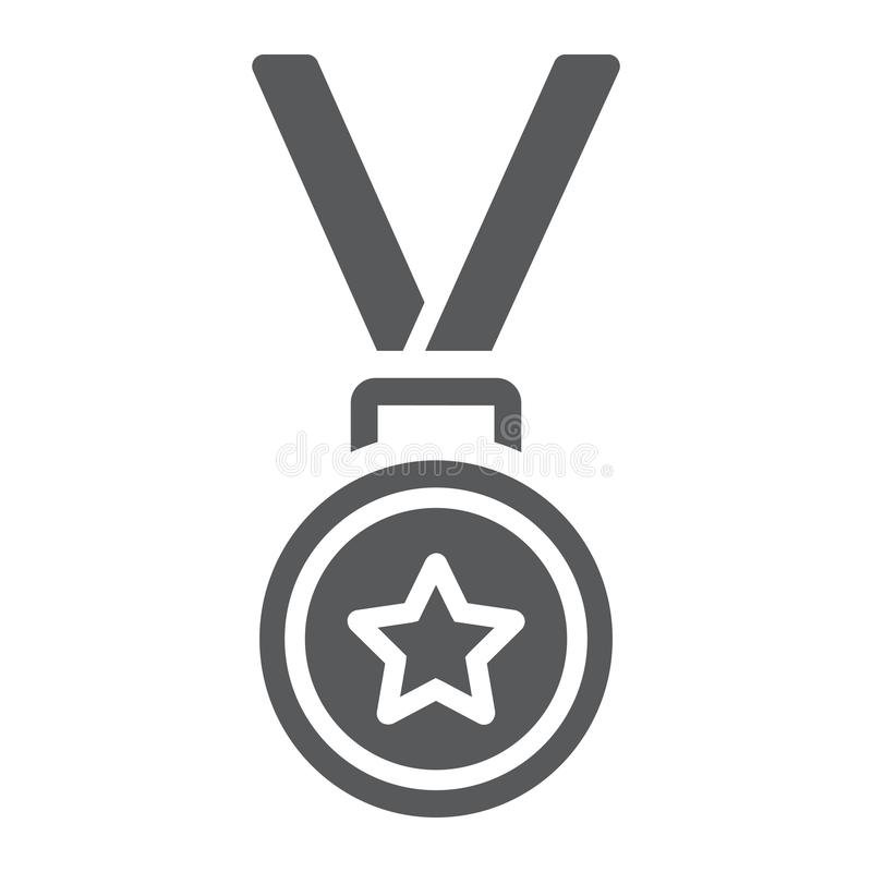 奖牌纵的沟纹象、战利品和奖,最佳的学生 皇族释放例证