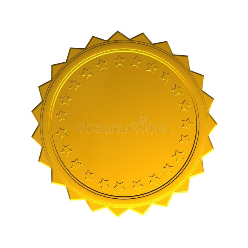 奖牌 皇族释放例证