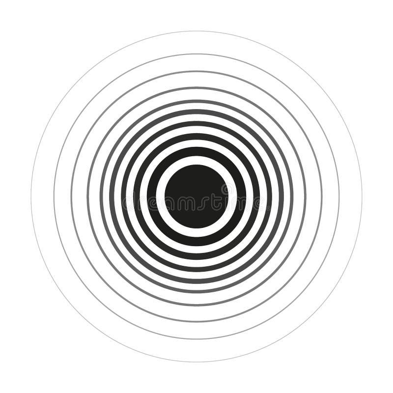 套使用略图杂文圈子的传染媒介手拉的圈子排行 乱画圆商标设计元素 库存例证