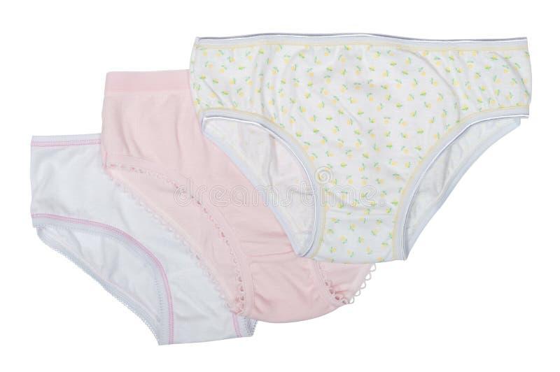 套女孩的婴孩裤子 库存图片