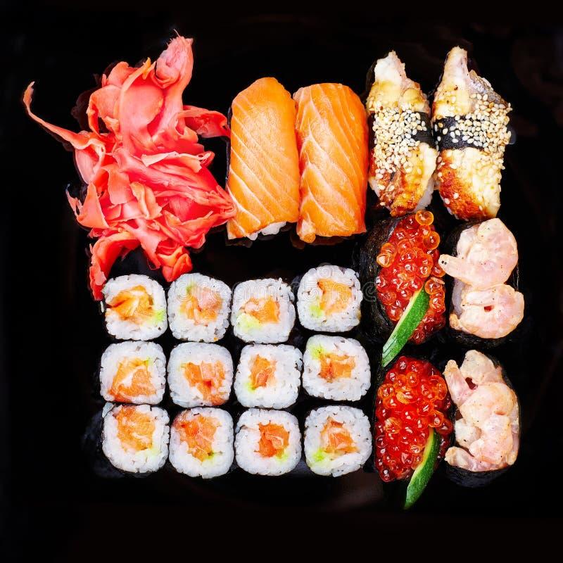 套寿司 免版税库存图片