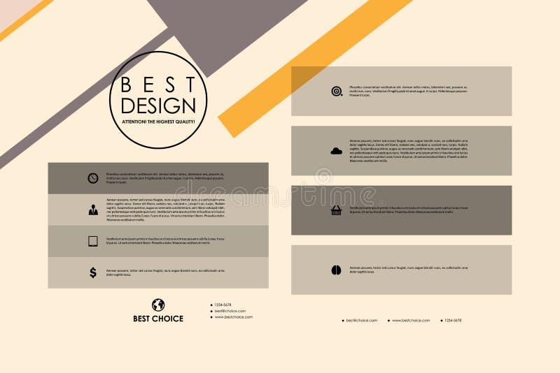 Download 套小册子,海报在抽象背景样式的设计模板 向量例证. 插画 包括有 图象, 商业, 例证, 小册子, 框架 - 72350471