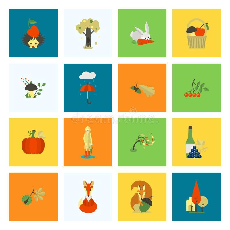 Download 套平的秋天象 向量例证. 插画 包括有 设计, bataan, 抽象, 自治权, 敌意, 申请人, 图象 - 59108270