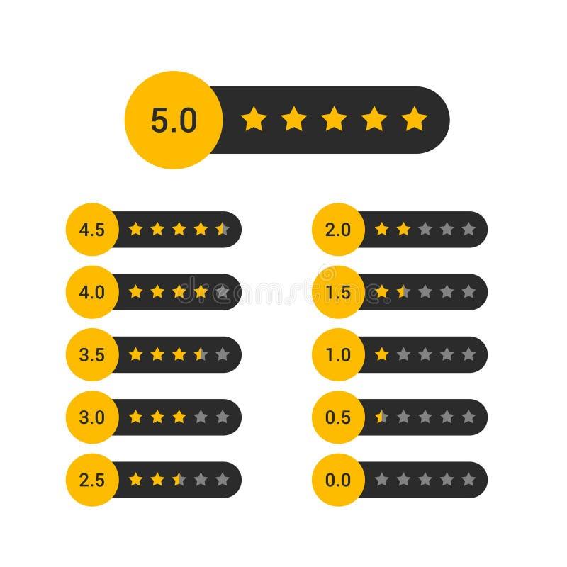 套星规定值标志设计 库存例证