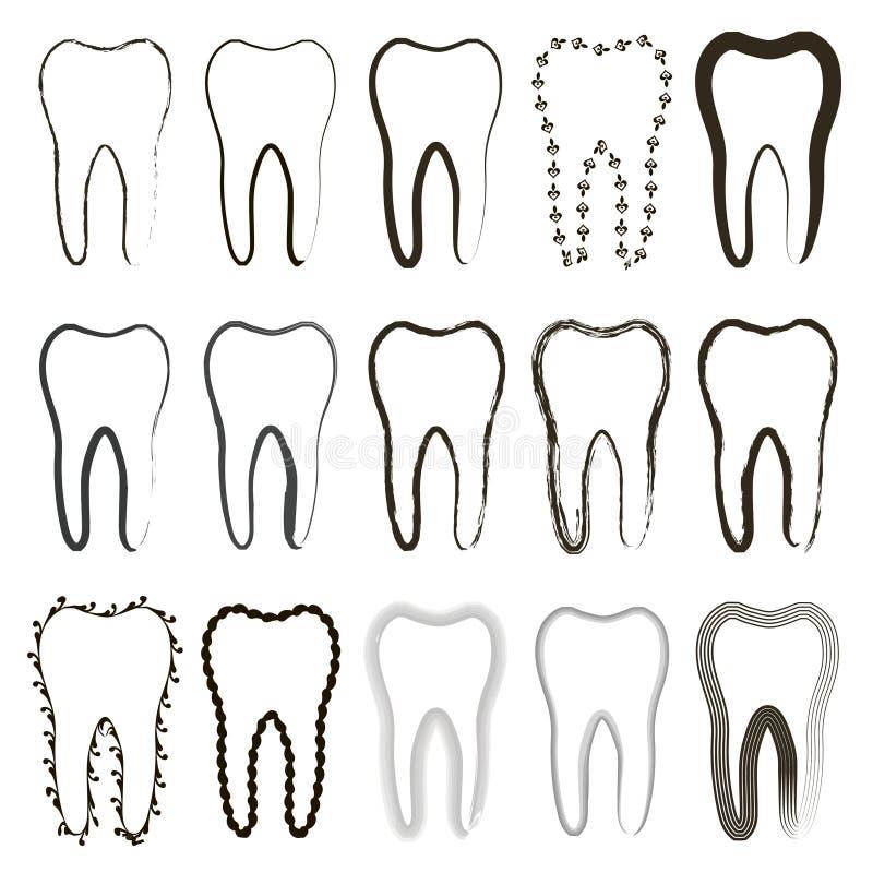 Download 套牙象 向量例证. 插画 包括有 设计, 医疗, 医生, 搪瓷, 动画片, 牙科, 人力, 爱好健美者, 说明 - 72360715