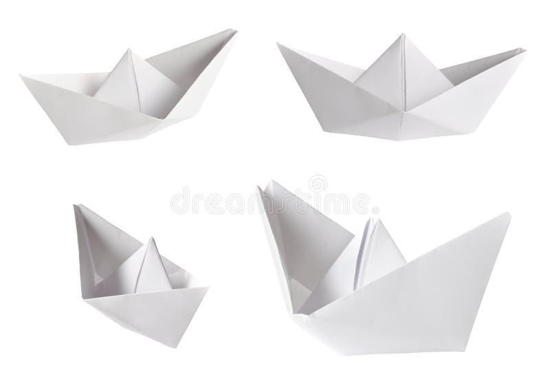套纸船 免版税库存照片