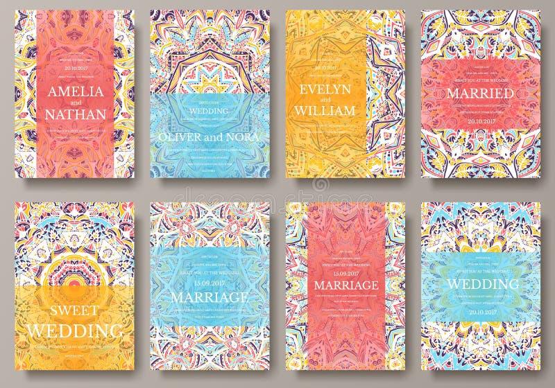 套老赖买丹月飞行物呼叫装饰品例证概念 传统葡萄酒的艺术,回教,阿拉伯语,印地安人,杂志 库存例证