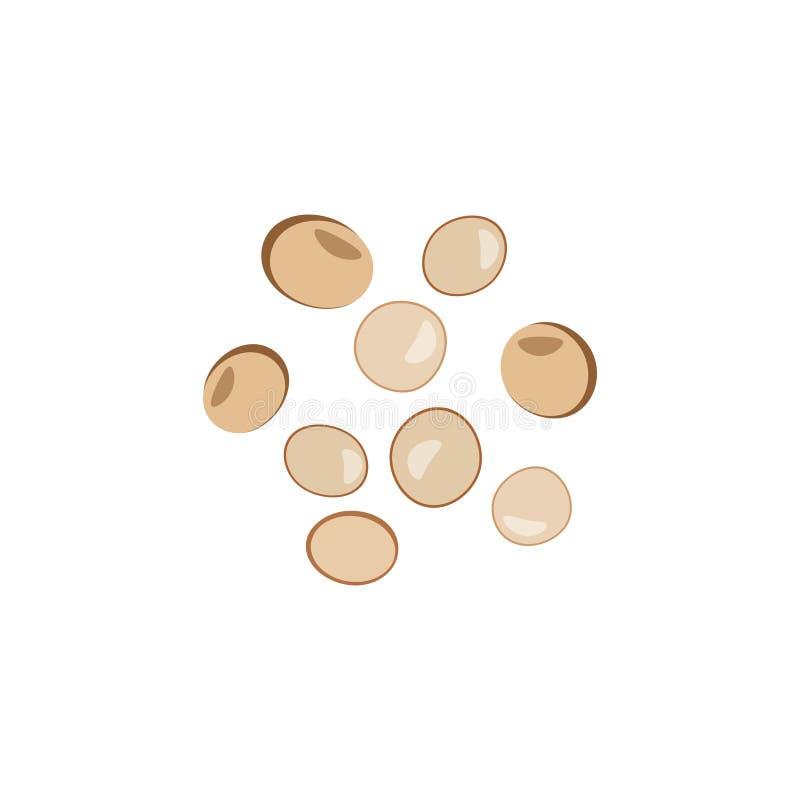 套色的石头,珍贵的宝石,玻璃球,棕色 皇族释放例证