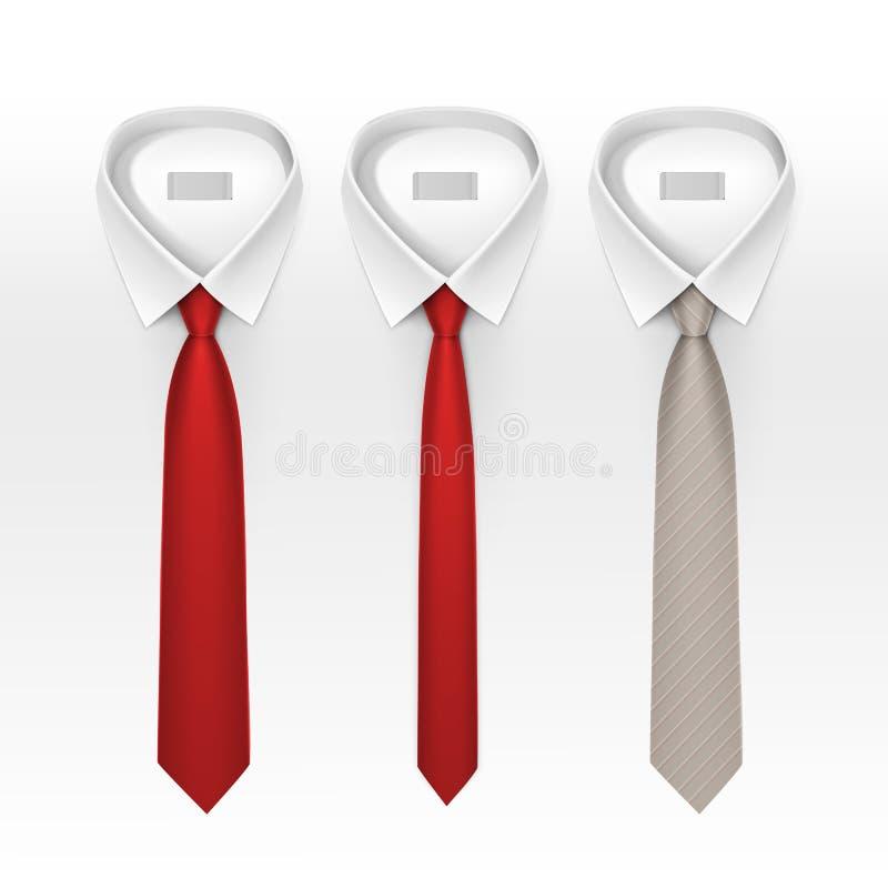 套被栓的镶边色的丝绸蝶形领结 皇族释放例证