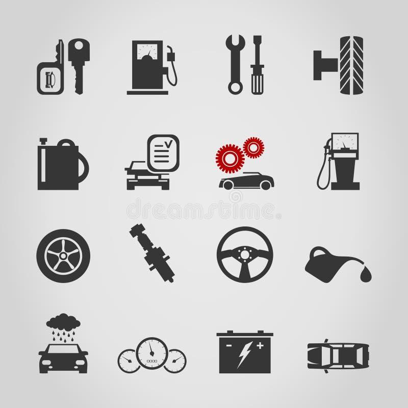 汽车icon4 皇族释放例证