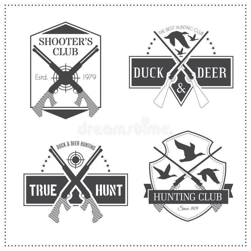 Download 套4个葡萄酒狩猎象征 向量例证. 插画 包括有 猎人, 剪影, 印花税, 葡萄酒, 武器, 密封, 符号 - 59101705