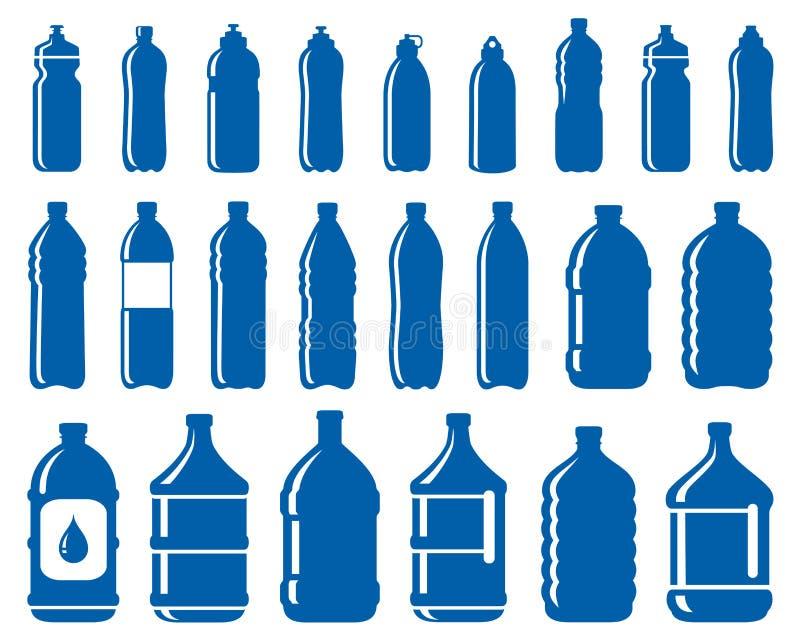 套水瓶象 向量例证