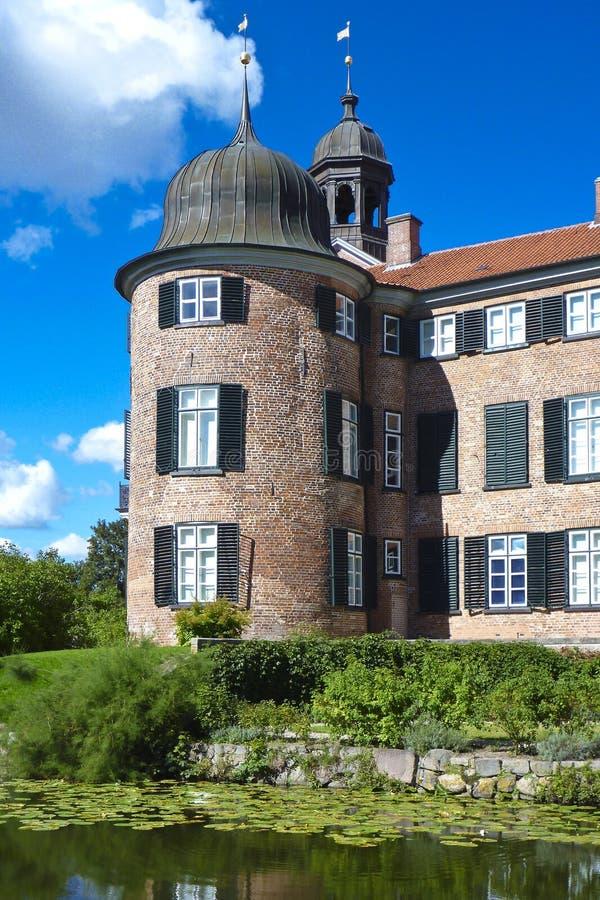 奥伊廷,德国城堡  库存图片