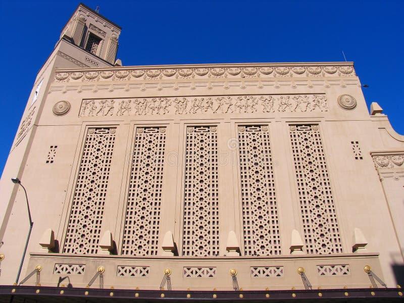 奥克兰大厦历史记录 免版税库存照片