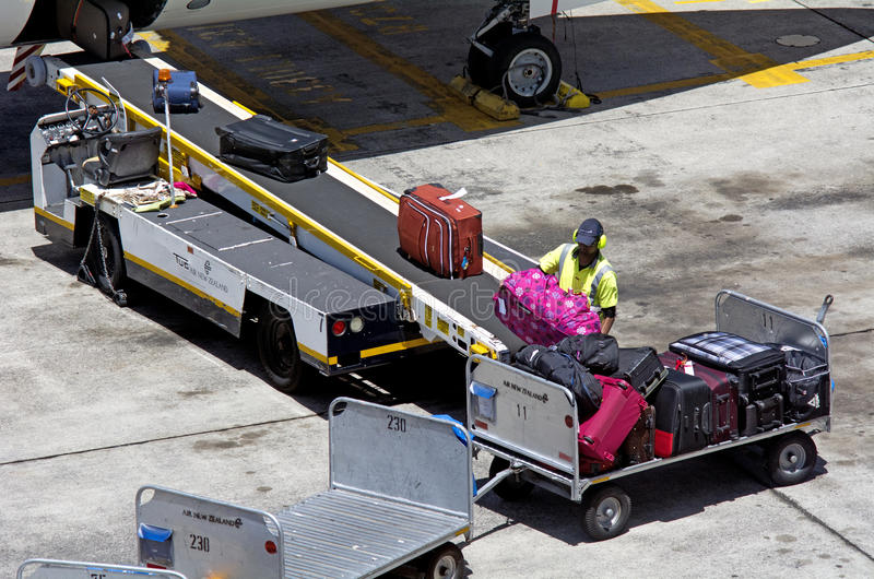 奥克兰机场-新西兰 免版税库存图片