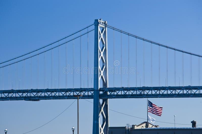 奥克兰桥梁 免版税库存图片