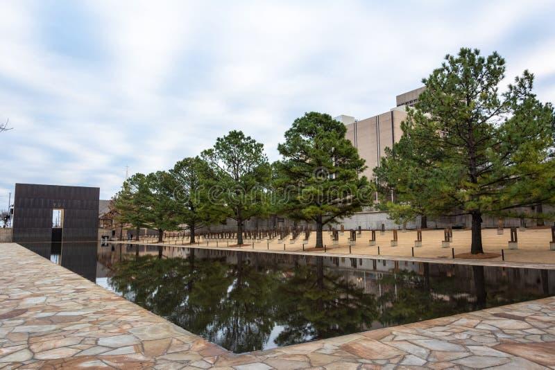 奥克拉荷马市全国纪念品在奥克拉荷马市,好 免版税库存图片