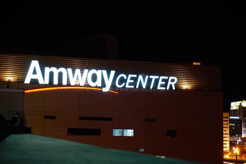 奥兰多Amway中心 免版税库存照片