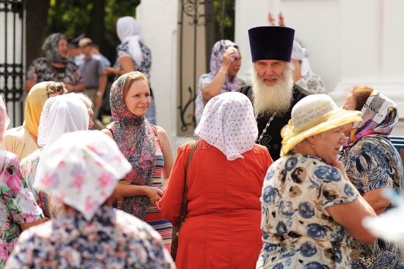 奧勒爾號,俄羅斯- 2016年7月28日:俄羅斯神洗禮的周年圖片
