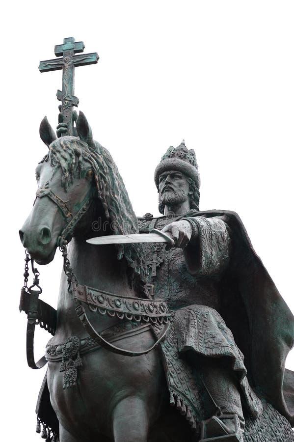 奥勒尔号,俄罗斯- 2016年10月14日:开放伊凡四世的纪念碑 库存图片