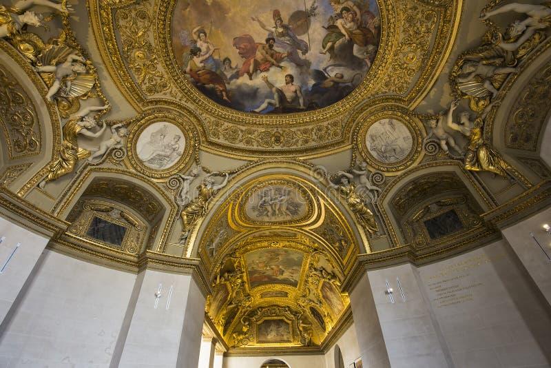 奥地利公寓的安妮,天窗,巴黎,法国 库存图片