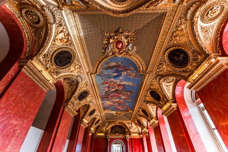 奥地利公寓的安妮,巴黎,法国 免版税库存图片