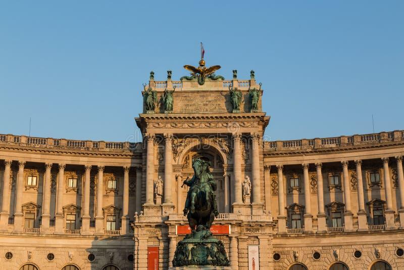 奥地利国家图书馆 库存照片
