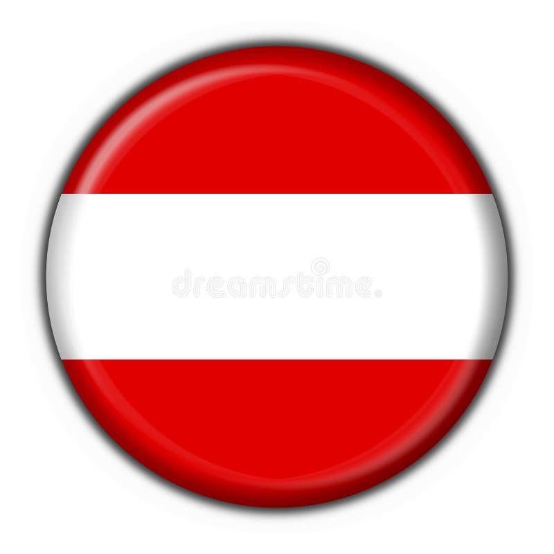 奥地利按钮标志圆形 向量例证