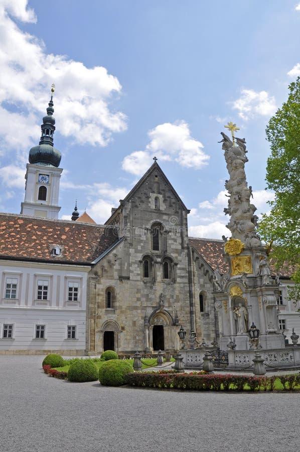 奥地利教会大学heiligenkreuz降低 免版税图库摄影