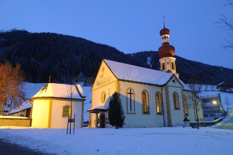 奥地利教会 免版税图库摄影