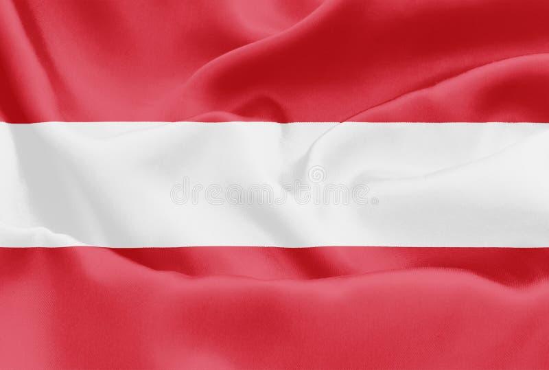 奥地利旗子-奥地利 免版税图库摄影