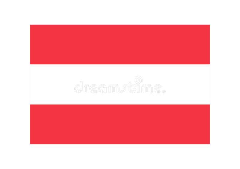 奥地利标志 库存例证