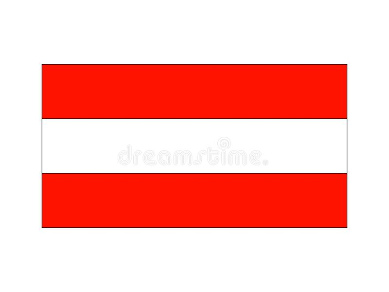 奥地利标志 向量例证