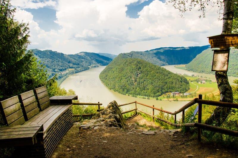 奥地利,多瑙河 免版税库存图片