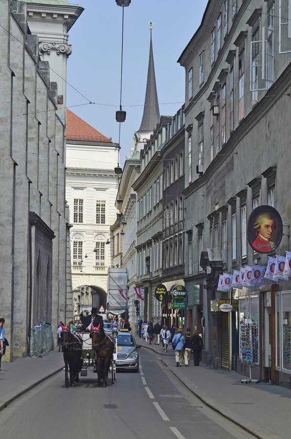 奥地利,维也纳 免版税库存照片