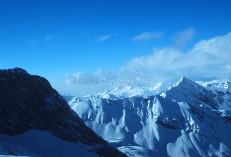 奥地利3的阿尔卑斯 免版税库存图片
