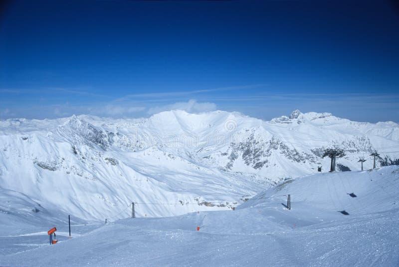 奥地利7的阿尔卑斯 库存照片