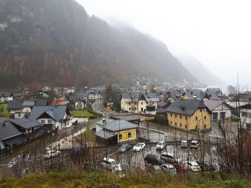 奥地利hallstatt 免版税图库摄影