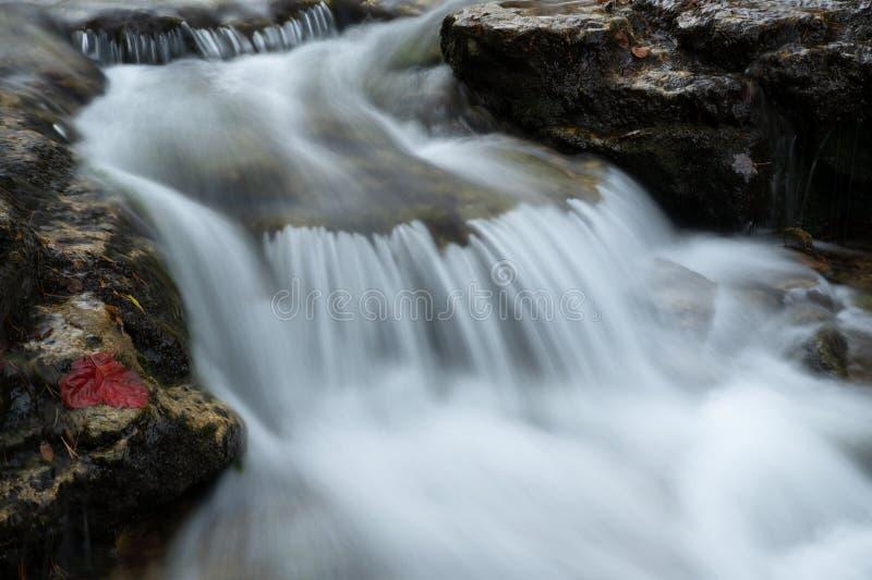 奥坦瀑布喀斯卡 库存照片