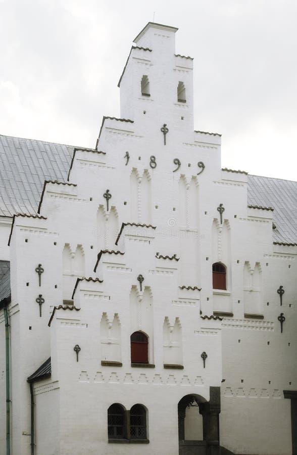 奥尔堡budolfi教会 库存图片