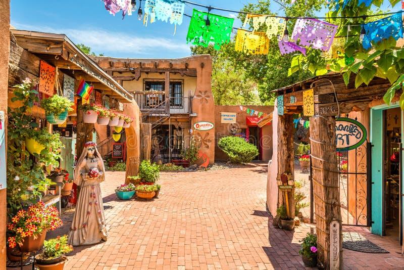 奥尔德敦亚伯科基,新墨西哥,美国 免版税库存图片