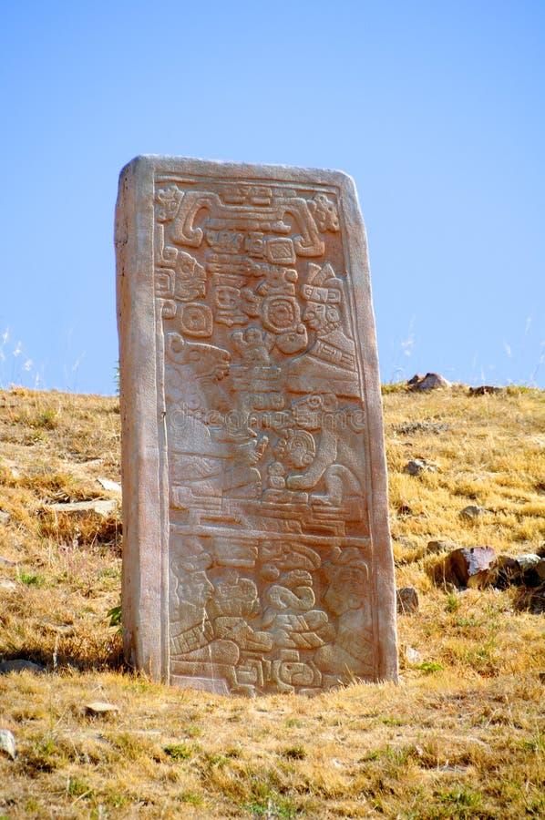 奥尔本montre stelae 图库摄影