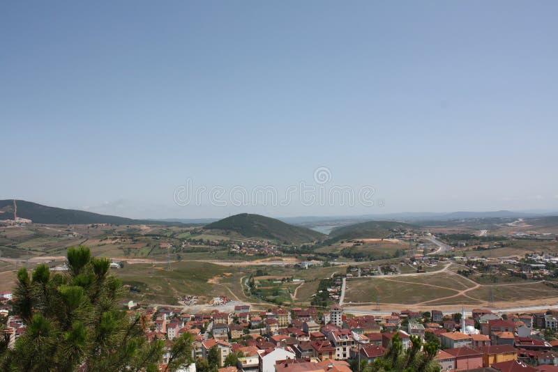 奥尔杜视图从上面,土耳其 免版税图库摄影