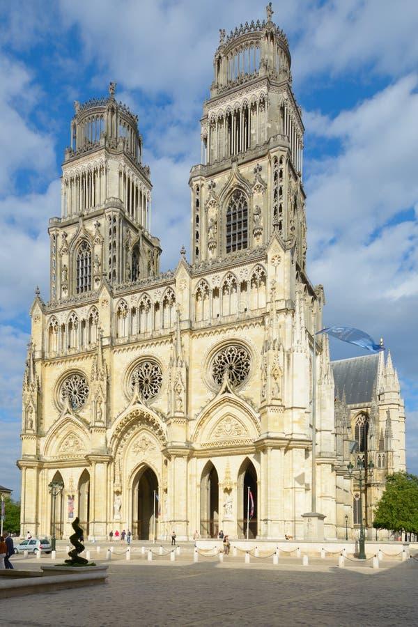 奥尔良大教堂 库存图片