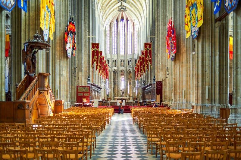奥尔良大教堂 免版税库存照片