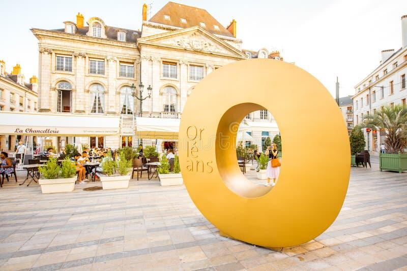 奥尔良市在法国 免版税图库摄影
