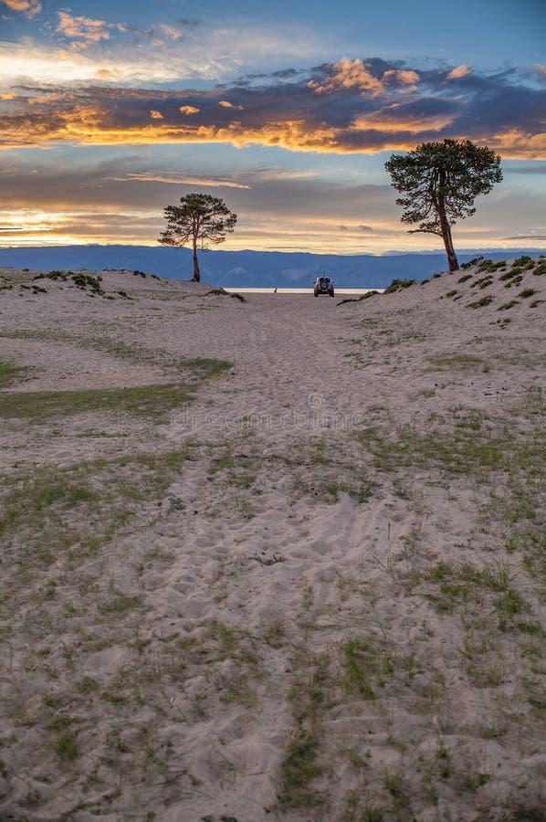 奥尔洪岛,贝加尔湖 免版税库存图片