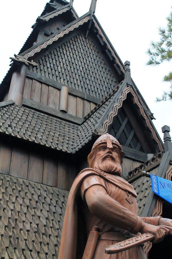 奥拉夫二世Haraldsson国王Epcot的 免版税库存照片